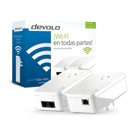 ADAPTADOR DLAN HASTA 500MBPS KIT